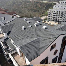 سقف شینگل لانه زنبوری توسی