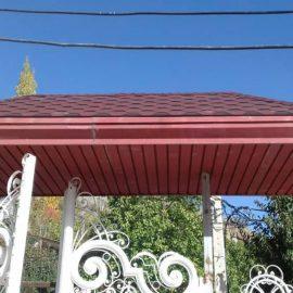 پوشش سردرب ورودی حیاط شینگل
